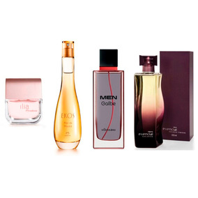 Perfume Ilia + Flor Da Manhã + Exclusivo Fem + Men Galbe