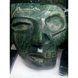 Mascara De Jade Vida Y Muerte, Artesania Prehispanica
