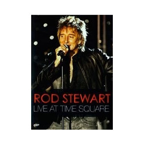 Rod Stewart Live At Time Square Dvd Oferta Faces