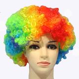 Peluca Payaso De Colores Halloween Rs-304