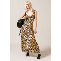 Vestido Largo Portsaid Animal Lemmon