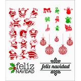Adhesivos Sticker Vitrinas Navidad
