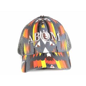 Boné Abqm Laranja Cinza Rede Western Wear d468d8734ce36