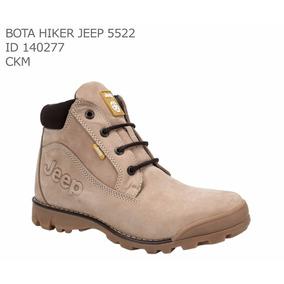 Bota Hombre Jeep 5522 - Hiker 140277 Talla 25 A 30 Arena
