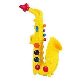 Pequeños Juguetes Del Mundo Preescolar -jugar En Casa Saxofó