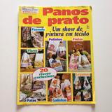 Revista Mãos De Ouro Panos De Prato Pintura Em Tecido Frutas