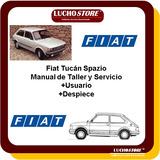 Fiat 147 Spazio Manual Taller Reparacion Servicio Despiece