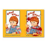 Placa Decorativa Chucky Good Guys