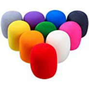 Antipop Cubierta Para Micrófono Colores (paquete De 5 Pzas)