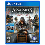 Juego De Ps4 Assassins Creed Syndicate Físico - Arenas Game