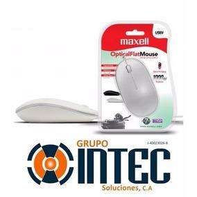 Mouse Inalambrico Maxell Mowl-220 Incluye Baterias Blanco
