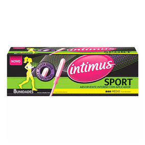 Absorvente interno intimus absorventes internos no for Intimus interno