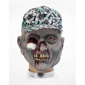 Foro Novedades Máscara Zombie Con Sombrero, Percy