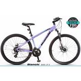Bicicleta Dama Mtb Bianchi Duel 24v + Remera De Regalo!