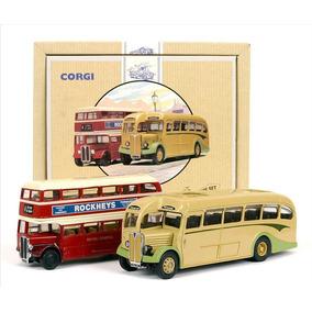 Corgi Bus Ingles Set X 2 1/50 & 1/64 97071 The Devon Bus