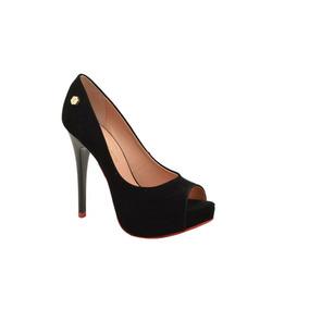 044e72a36 Sapato De Salto Alto Brilhante Feminino Di Cristalli - Sapatos no ...