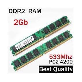 Memória Ram Ddr2 Um Pente De 2gb 533 Mhz