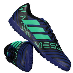 Chuteira adidas Nemeziz Messi 17.4 Tf Society Juvenil Azul por Futfanatics 78f3014524b7a