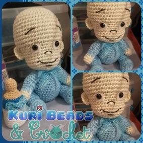 Bebé Amigurumi Tejido A Crochet Baby Shower Bautizo
