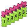 Fluorescent green & Pink