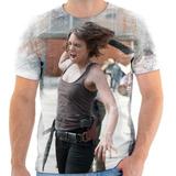 Camisa Camiseta The Walking Dead Serie Seriado Maggie 03