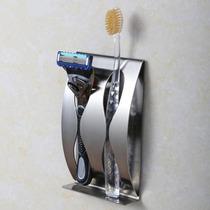Porta Cepillos Dentales Acero Inoxidable Envio Gratis