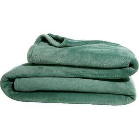 Cobertor Manta Casal Queen Microfibra Hortelã - Linha Avulsa