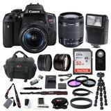 Canon Eos Rebelde T6i Réflex Digital Con 18-55mm Lente Y 32g