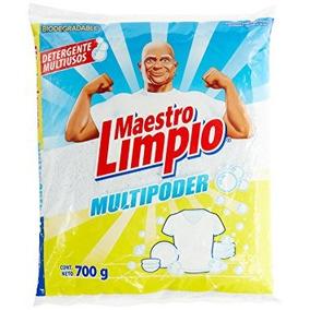 Maestro Limpio Detergente Multiusos En Polvo 700 Gramos