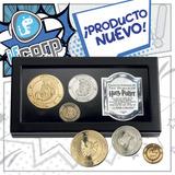 Harry Potter Gringotts Bank Coin Original Set De 3 Monedas