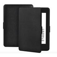 Capa Couro Magnética P/ Amazon Kindle Paperwhite 4 10g Preta