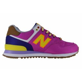 Tenis New Balance Lyfestile Sneakers Wl574exb Fisuha Multico
