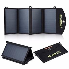 Cargador De Banco De Poder De Paneles Solares De 25w Plegabl