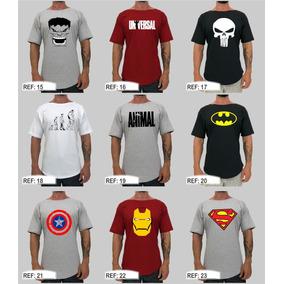 5 Camiseta Morcego Morcegão Musculação Blusa Camisa Gola