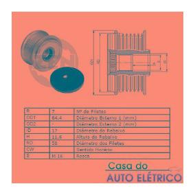Polia Alternador Livre Hilux 2005 Em Diante F00m991221