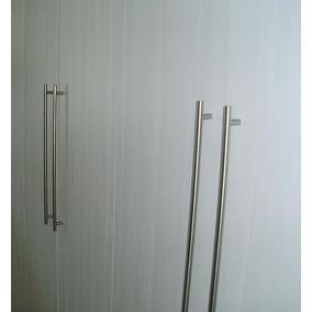 Puxador Armario Cozinha/quarto Aço Inox 12,8cm Lote 10 Peças