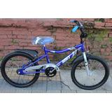 Bicicleta Musetta Viper Rodado 20 Varon Nene Planet Cycle
