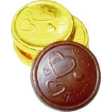 Kit Fabricacion Monedas Chocolate Ref. Te Amo