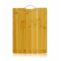Tábua De Carne Extra Grande De Bambu