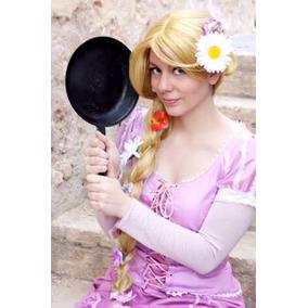 Disfraz Rapunzel Vestido Adulto Show Cosplay