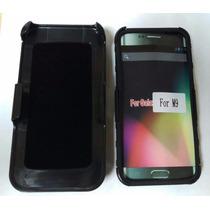 Funda Case Uso Rudo Y Mica Glass Para Celular Htc M9 526 626