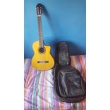 Guitarra Walden N660ce Electroacustica Con Soporte Y Funda