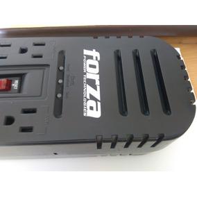 Regulador De Voltaje Forza 1200va / 600w 8 Tomas
