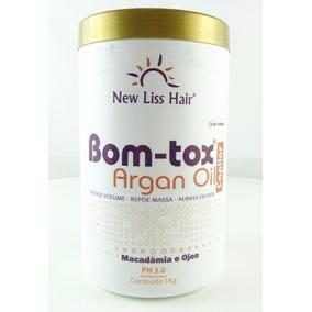 Botox S/formol 1kg New Liss Hair Hidratante Dos Fios