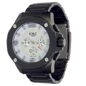 8cd811c3744 Relógio Masculino Analógico Ewc Colossal Octagon Emt14027-b