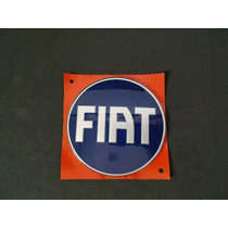 Emblema Tampa Traseira Fiat Strada Azul 2005 06 07 08 09