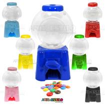 Embalagem C/ 12 Baleiros Candy Machine Para Personalizar