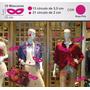 Adesivo De Vitrine Loja 10 Macara De Carnaval Rosa Pink