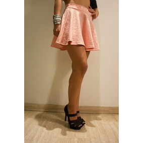 Falda Provoque Campana Corte Princesa Juvenil Stretch Moda