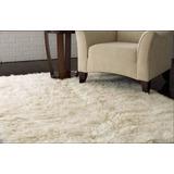 Carpetas Alfombras Flokati Premium Living Lana 60 X 90 Cm